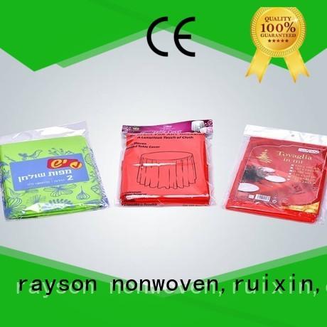 Rayson محبوكة ، ruixin ، بيئى ممتازة جولة مفارش المائدة المتاح من الصين للسوق
