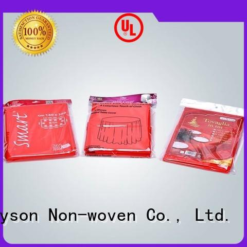 rayson nonwoven,ruixin,enviro fabric washable tablecloth fabric supplier for cover