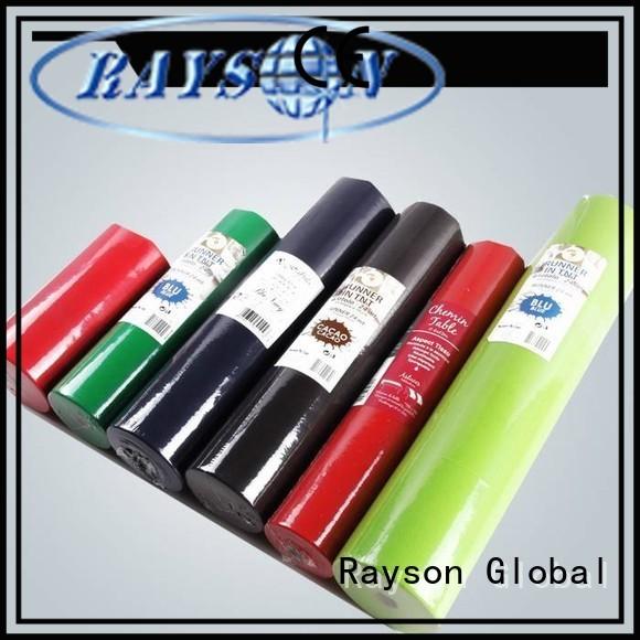 Hot precut non woven polypropylene fabric suppliers 10m rayson nonwoven,ruixin,enviro Brand