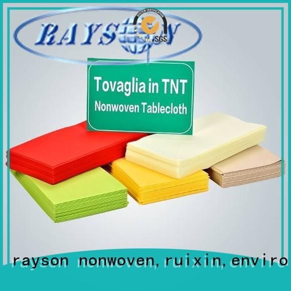 rayson nonwoven,ruixin,enviro market non woven bags with good price for hotel