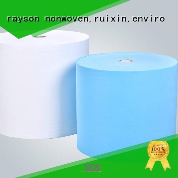 Rayson não tecida, ruixin, enviro pouchnon nãotecidos empresas series para embrulho