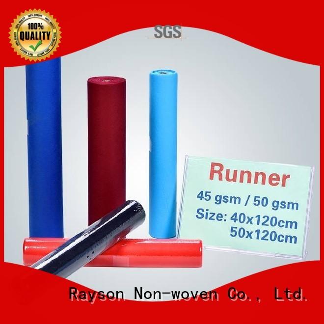 colors tablecloths disposable table cloths pp rayson nonwoven,ruixin,enviro Brand company