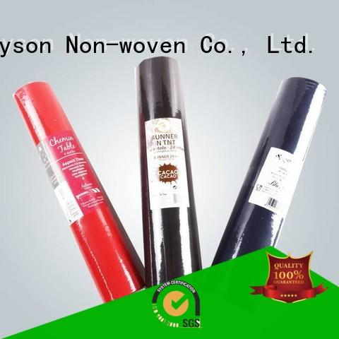 Quality rayson nonwoven,ruixin,enviro Brand floral disposable table cloths
