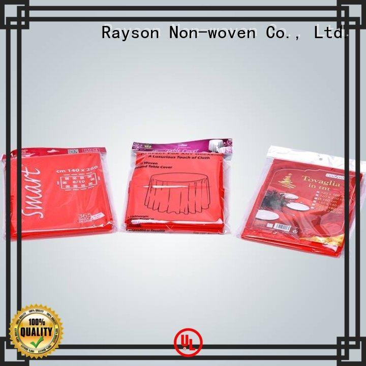 rayson nonwoven,ruixin,enviro Brand disposable raw material for non woven fabric cloth supplier