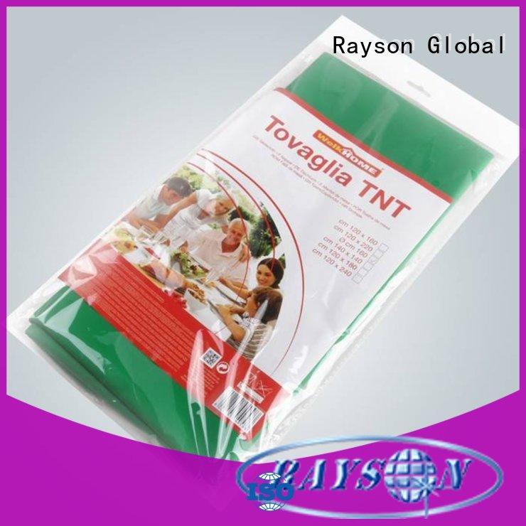 Rayson no tejido, ruixin,enviro no tóxico mantel redondo tamaños series para exteriores