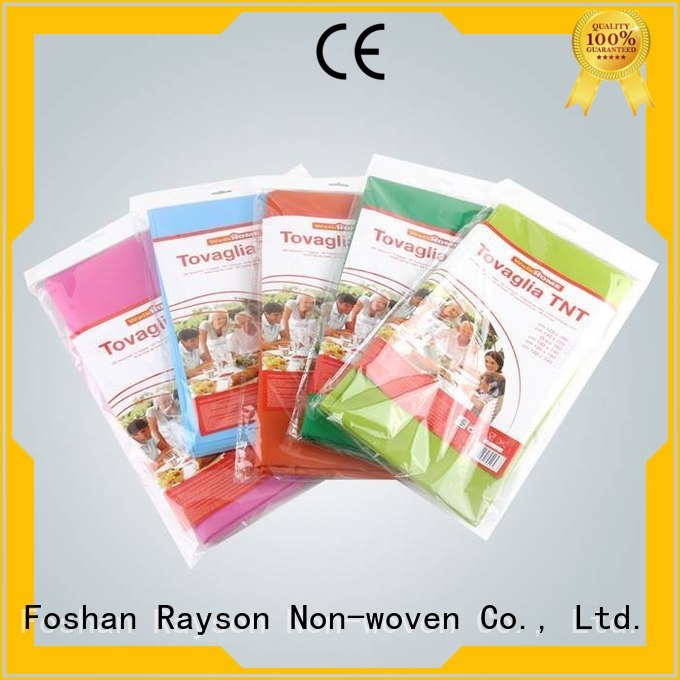 embossed raysons non woven tablecloth touched rayson nonwoven,ruixin,enviro
