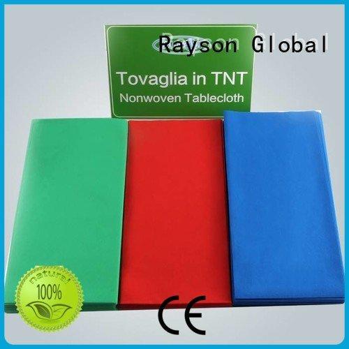 non woven bag supplier jacquard disposable red cover rayson nonwoven,ruixin,enviro