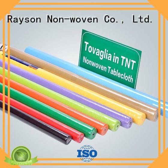 non woven polypropylene fabric suppliers pe cloth rayson nonwoven,ruixin,enviro Brand