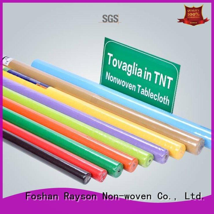rayson nonwoven,ruixin,enviro oil table cloth design factory for home