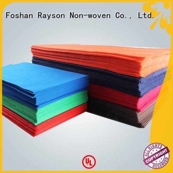 Rayson no tejido, ruixin, servilletas de tela degradable enviro al por mayor para exteriores