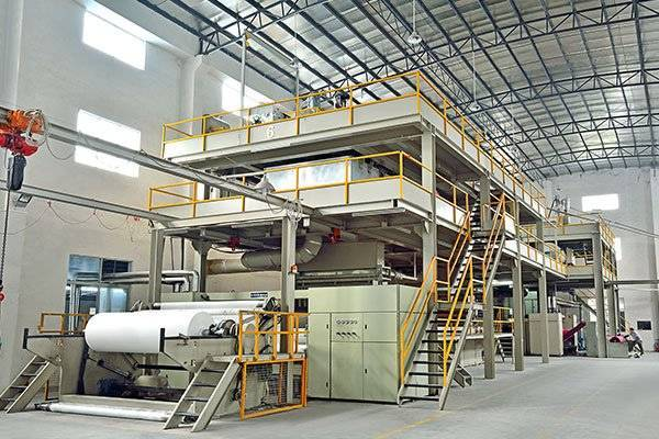 Non woven production line