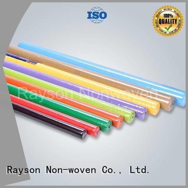 rayson محبوكة ، ruixin ، enviro العلامة التجارية طول فريوت مكافحة غير المنسوجة مفرش المائدة