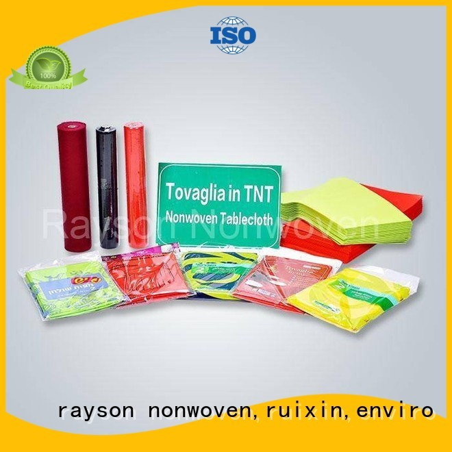 beer resistant ecofriendly rayson nonwoven,ruixin,enviro Brand non woven cloth manufacture