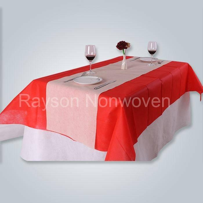 Toalha de mesa de tnt para rolle de geotêxtil fantasia fabricante direto RS-TC06