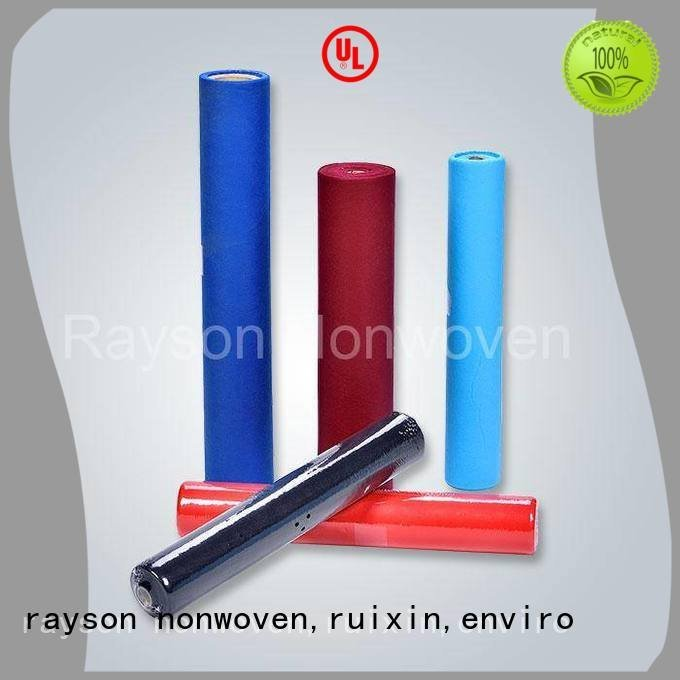 Wholesale 100 non woven tablecloth rayson nonwoven,ruixin,enviro Brand