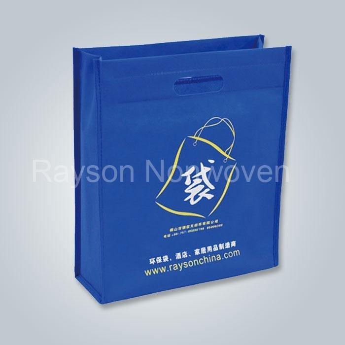 قطع بيئياً غير المنسوجة أكياس أكياس التسوق طوى كيس Rsp AY02