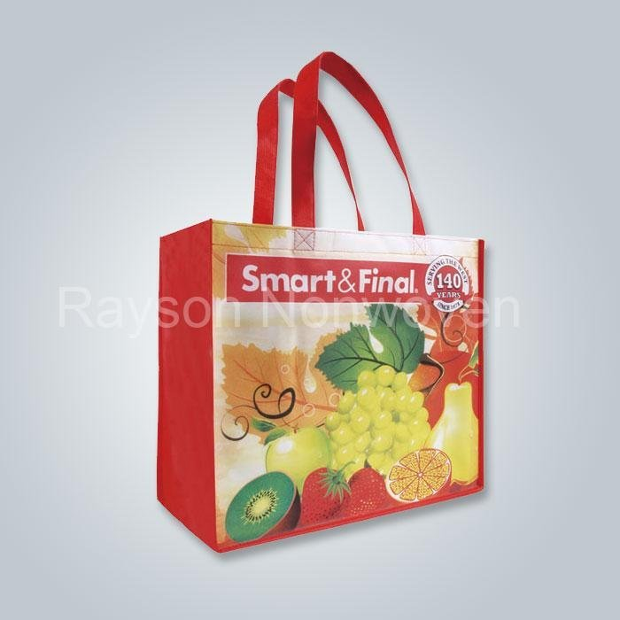 حقيبة خياطة بيئياً غير المنسوجة أكياس التسوق أكياس قابلة للطي Rsp AY06