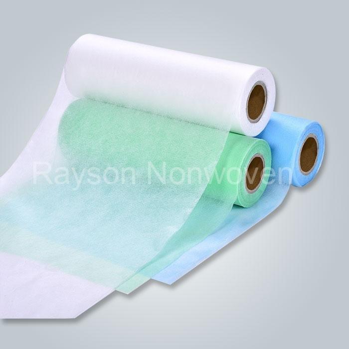 Medida ancho Hospital quirúrgico utilizado a tela no tejida de médica