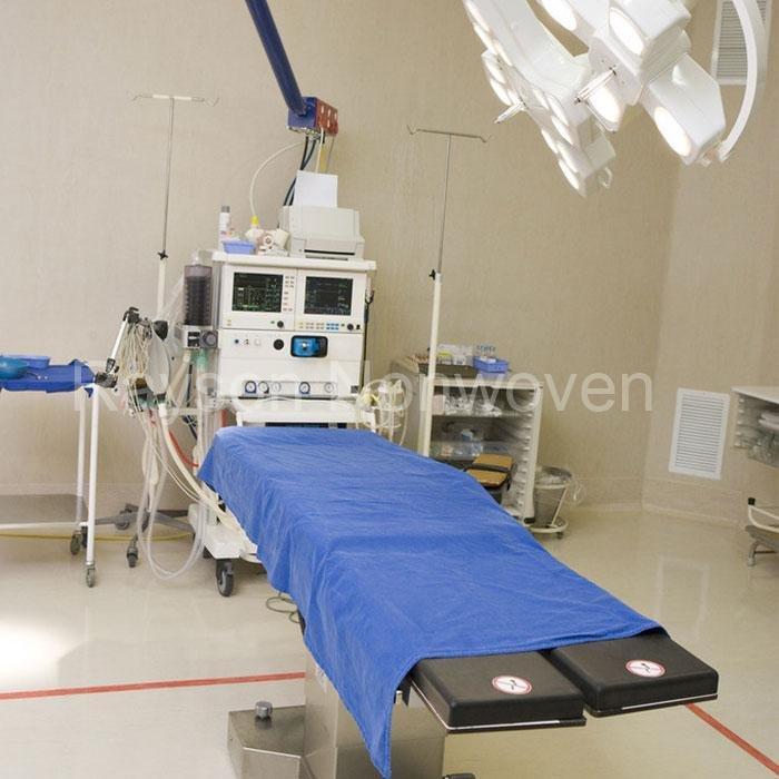 100% 폴 리 프로필 렌의 만든 낮은 MOQ 높은 강도 일회용 수술 테이블 커버