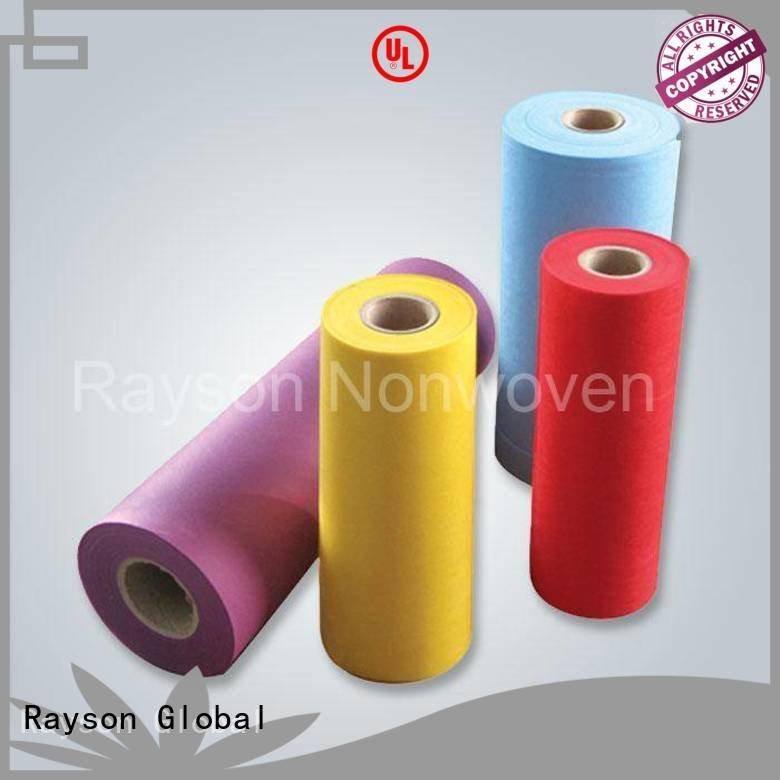 rayson nonwoven,ruixin,enviro Brand polypropylenen dust material non woven weed control fabric
