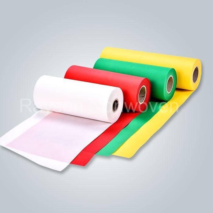Accesible 100% polipropileno Spunbond no tejido procesado tela Textiles