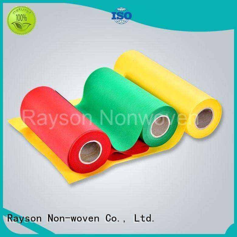 bottom oem OEM non woven weed control fabric rayson nonwoven,ruixin,enviro