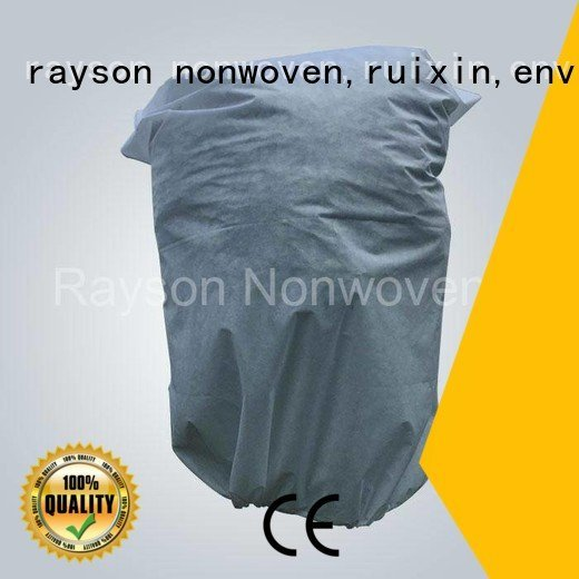 skirting 60gsm rayson nonwoven,ruixin,enviro Brand weed control landscape fabric