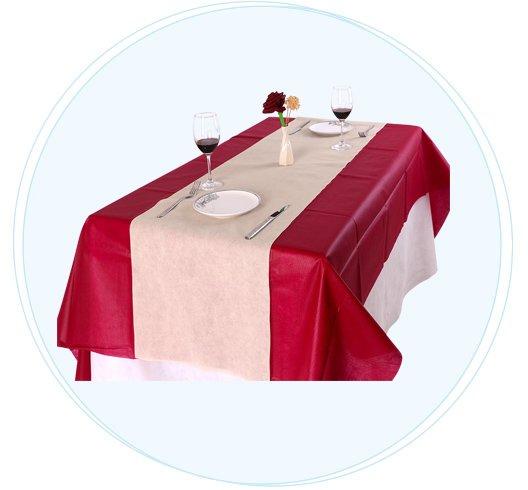 Bulk Kaufen Sie hochwertige nicht gewebte günstige Einweg-Tischdecken-Fabrik-5