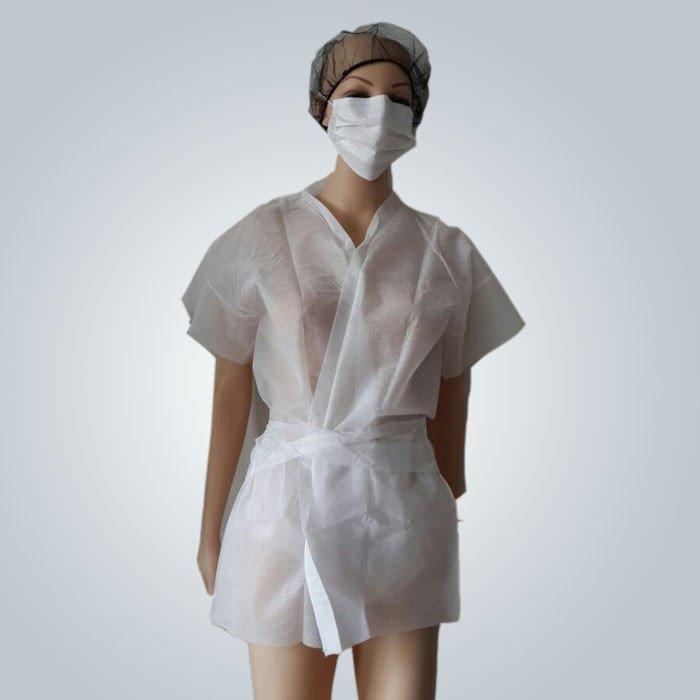 كيمونو غير المنسوجة المتاح، ساونا معطف الأغشية PP/المواد SMS