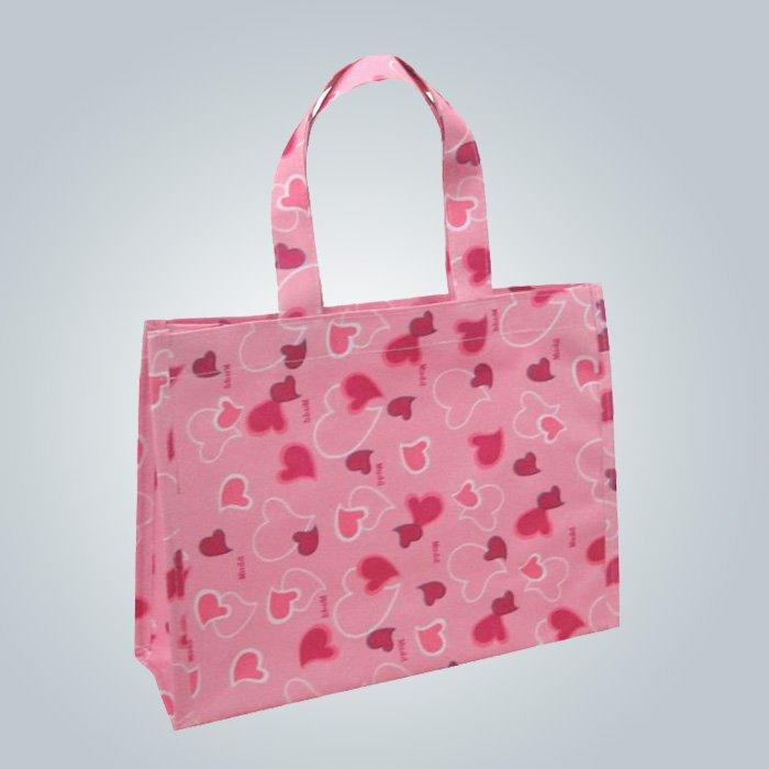 Eco - Friendly Polypropylene Non Woven Shopping Bag with Printing Patterns