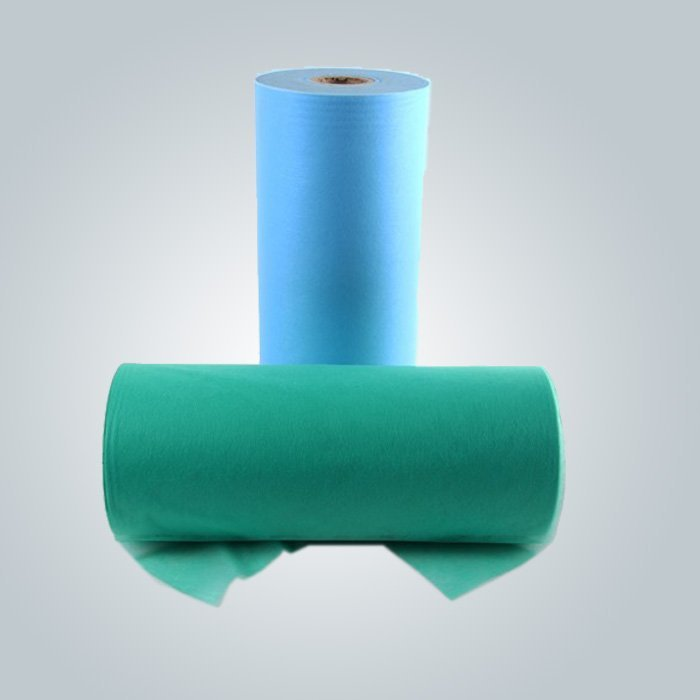 Mejor venta de alta calidad cama hoja cubierta desechable SPA masaje Bedsheet cabido en rodillo / pieza
