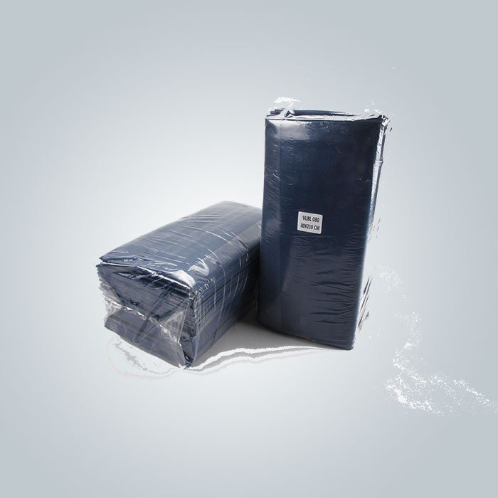 Funktions-antibakterielle blaue Farbe lamellierte das nicht Gewebe, das für Bedsheet verwendet wurde