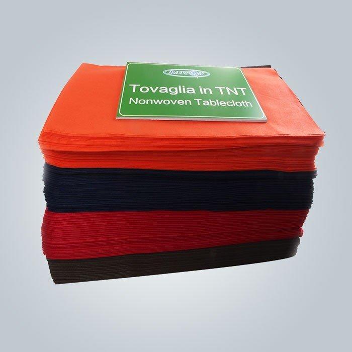 فحص مخصص مختلف لون 38g إلى 70 g سفرة غير يحوك بناء سماط