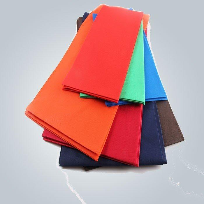 شعور لينة عدم الانزلاق مختلف الألوان المتاح غطاء الطاولة أويبروف في ثنت النسيج
