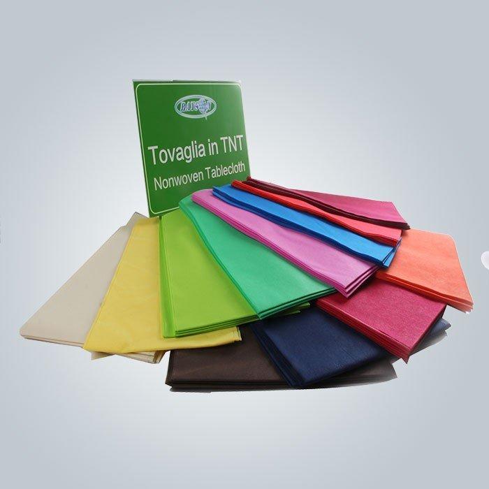 Tovaglia monouso pretagliata 45gsm vari colori Tnt con lunghezza 25 m