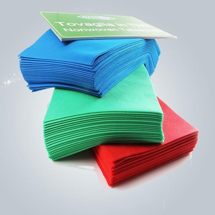 Cubierta de tabla resistente al calor colorida no tejida disponible del mantel para Weeding usado