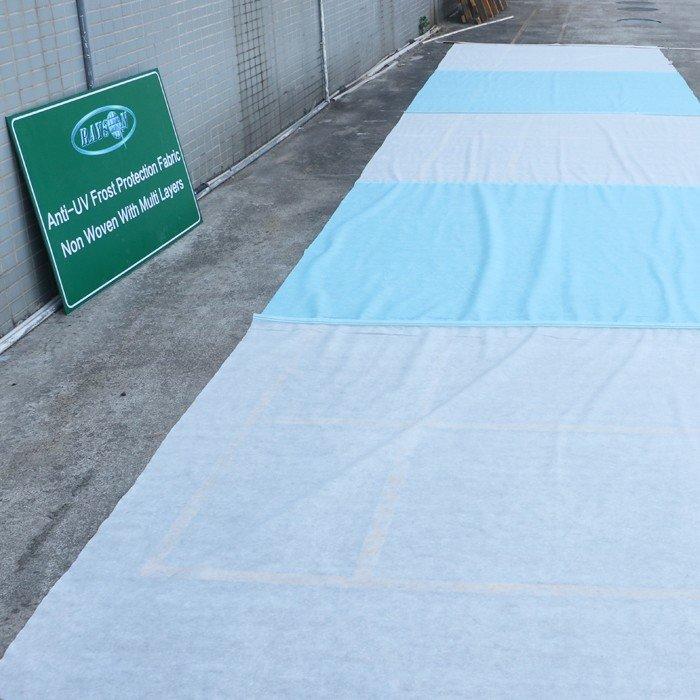 Colore bianco 40g 1,5% UV Stabillized 100% PP Spunbond agricola tessuto non tessuto