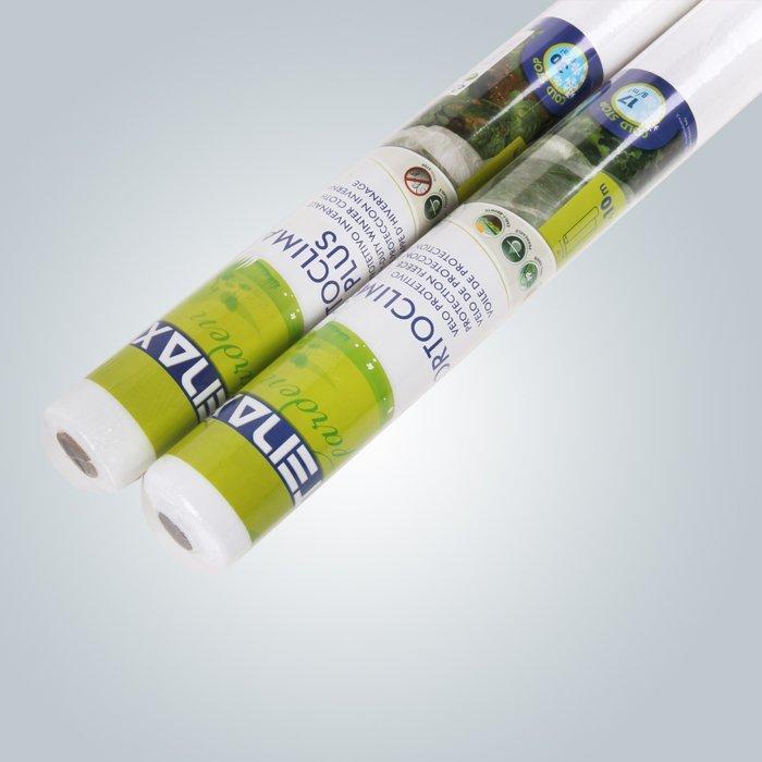 Tessuto non tessuto di colore bianco PP per la riduzione di parassiti e malattie delle piante