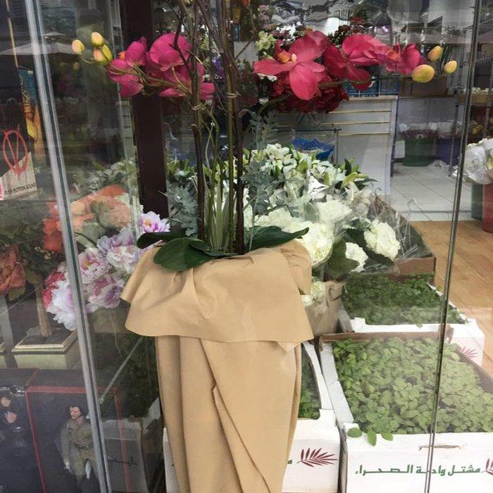 جديد بيع نوعية جيدة زهرة التعبئة ب محبوكة النسيج مع مختلف الألوان