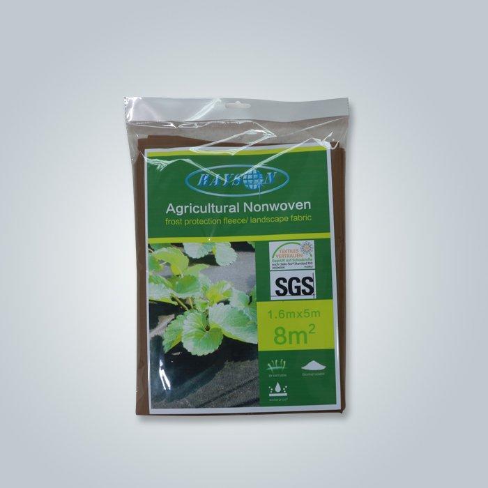 Costo effettivo spunbond tessuto non tessuto di erbaccia in colore nero