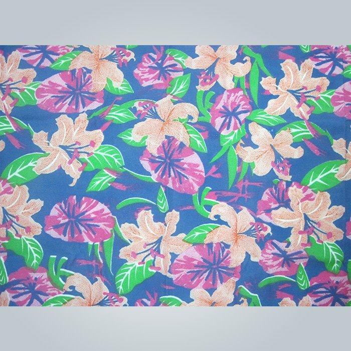 Fiore stampa uso di tessuto non tessuto per materasso quilting o tabella colthes