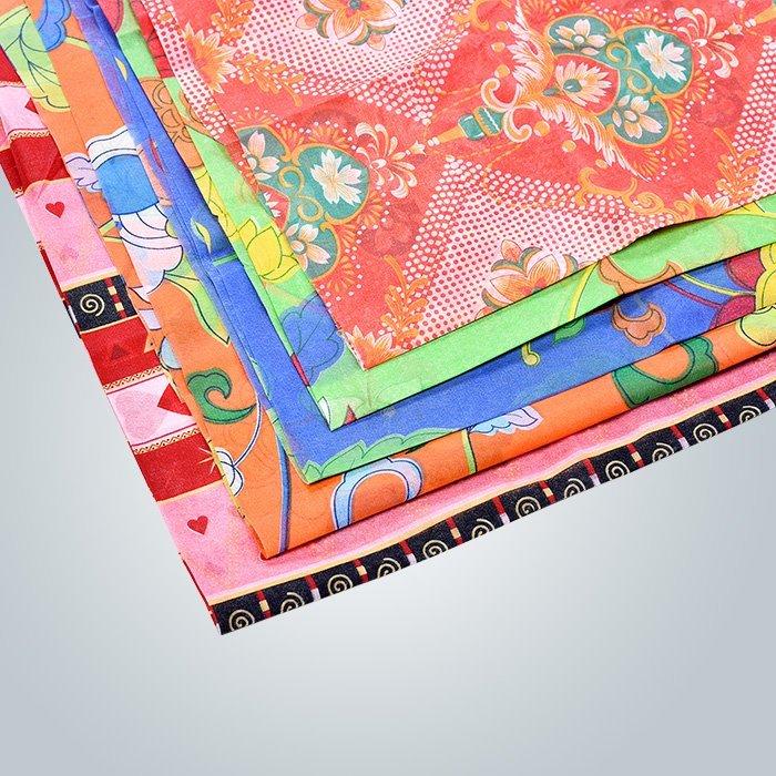 clases de tela no tejida polipropileno impresa en la cubierta de colchón