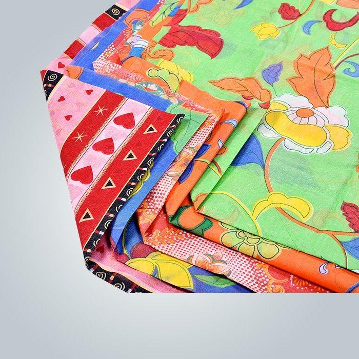 Stampa colorata non tessuta per materiale di tappezzeria di mobili