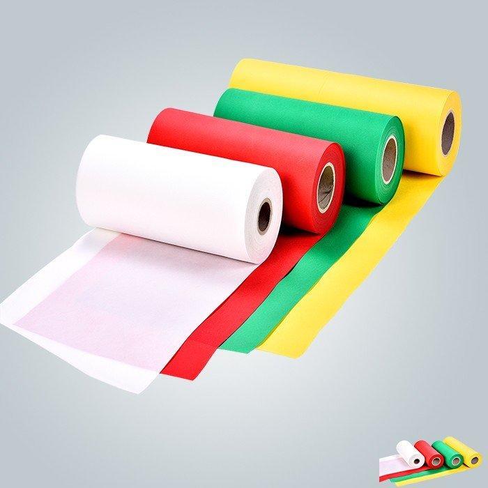 Tessuto non tessuto resistente al calore antibatterico utilizzato per la tovaglia di scopo