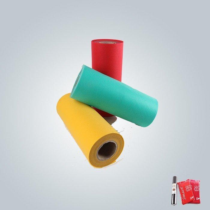Blaue und gelbe Farbe Nonowoven Möbelstoff ist für Matratze Quilten