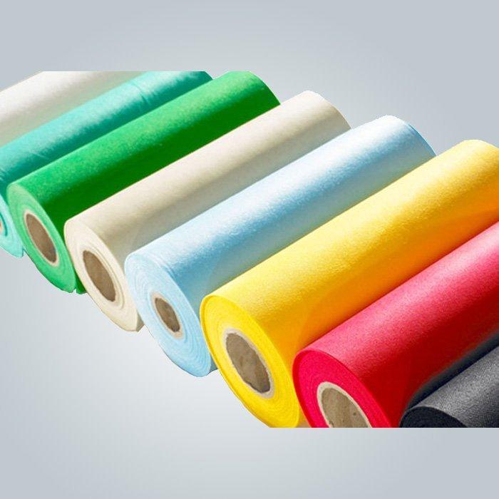 100% virgen material PP spunbonded tela no tejida de flores y regalos packaging