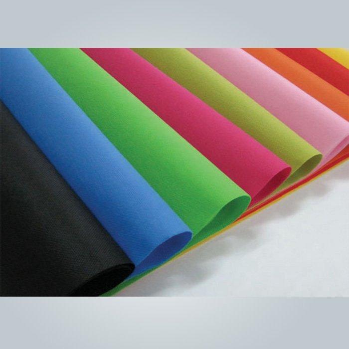 اللون الأسود 90 غرام غير المنسوجة لقاعدة الفراش وقاعدة أريكة