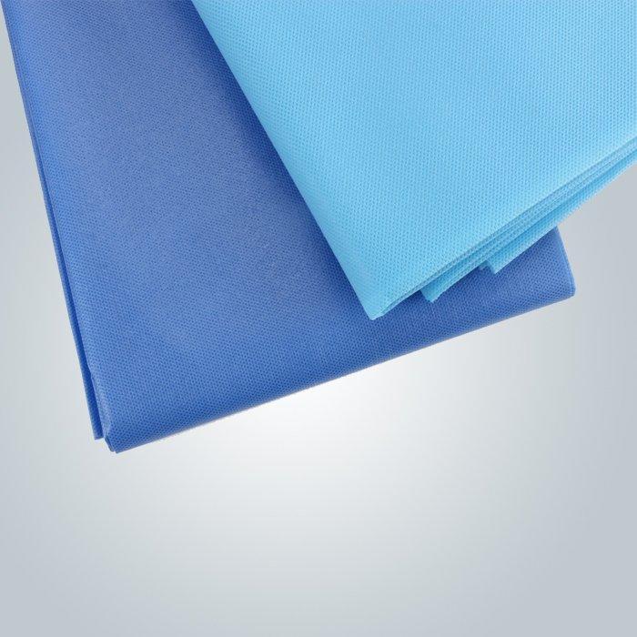 마사지에 대 한 도매 일회용 블루 장착 되어 침대 시트