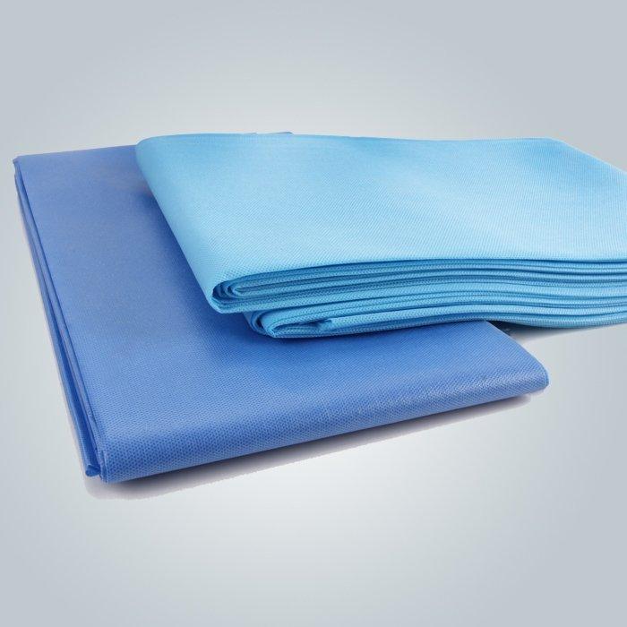hoja de cama no perforadas pp tejido para salón spa