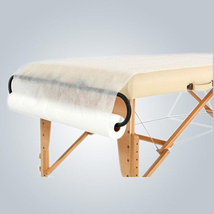 에코 - 친화적 인 일회용 침대 시트 롤 클리닉 테이블 의자 용 천공 라인